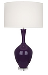 Amethyst Curvy Table Lamp