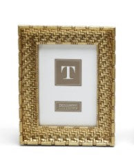Gold Weave 5 x 7 Frame