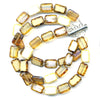 Stephanie Wolf 3-Strand Bracelet - White Mix