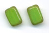 Stephanie Wolf Trilogy Stud Earrings - Green