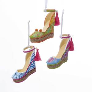 Espadrille with Tassel Ornament