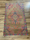 Bright Vintage Turkish Multi Rug 4.75 x 7.8