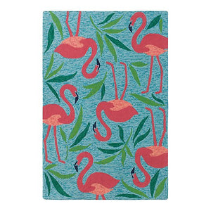 Fancy Flamingo Welcome Mat