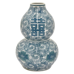 Asian Blue and White Vase #2