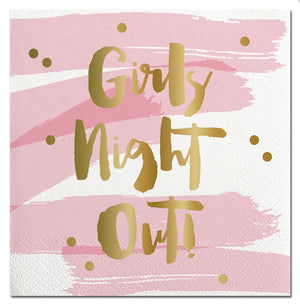 Cocktail Beverage Napkin - Girls Night Out