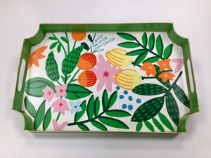 Serving Tray - Floral Fruit