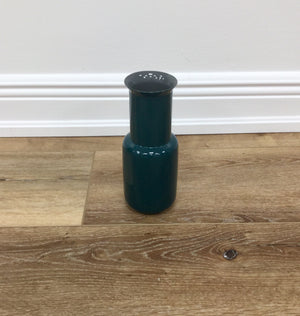 Bamboo Vase - Racing Green