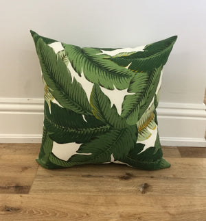 Swaying Palms Pillow Indoor Outdoor