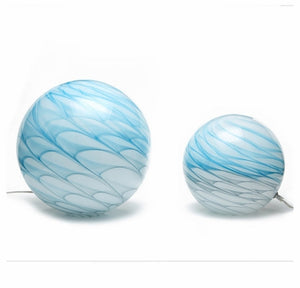 Swirl Free Form Table Lamp - Blue - In store only