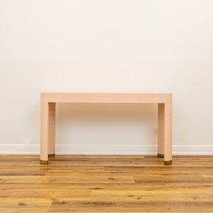 In Store Only Flannery Console - Odessa Pink