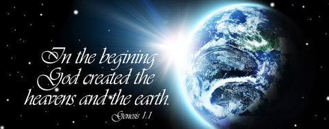 "Christian-Genesis 1:1 ""In the Beginning"""