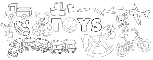 Toys Coloring Page