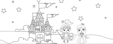Fairytale Coloring Page
