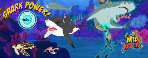 Wild Kratts- Shark Powers