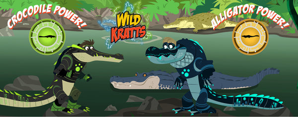 Wild Kratts- Alligator and Crocodile Power