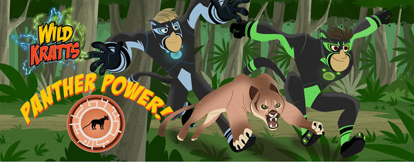 Wild Kratts Panther Power Lightheaded Beds