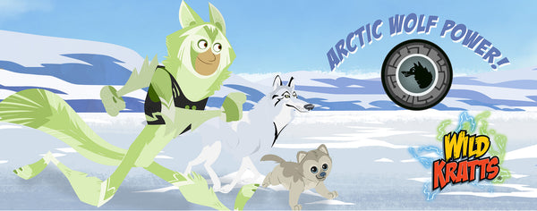 Wild Kratts- Arctic Wolf Power