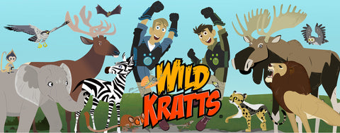 Wild Kratts- Brothers Jumping With Animals