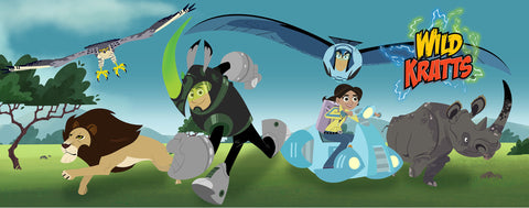 Wild Kratts- On the Move