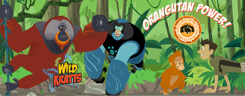 Wild Kratts- Orangutan Power