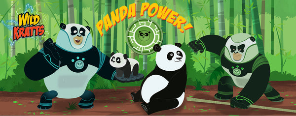 Wild Kratts- Panda Power