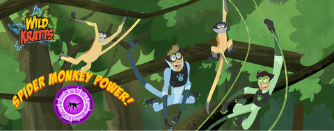 Wild Kratts- Spider Monkey Power