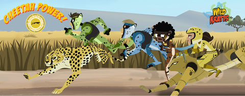 Wild Kratts- Cheetah Power