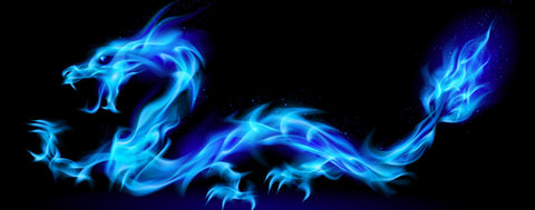 Dragons-Blue Fire Dragon