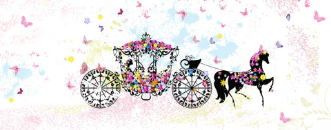 Fairytale-Floral Carriage