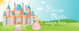 Princess Castle Personalize