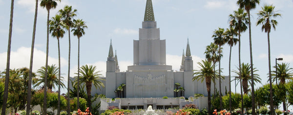 Christian-LDS Oakland Temple