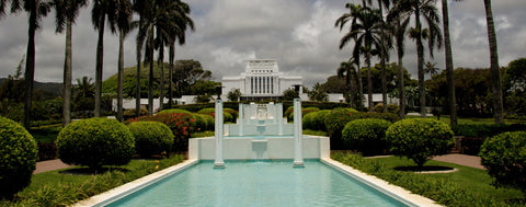 Christian-LDS Hawaii Temple