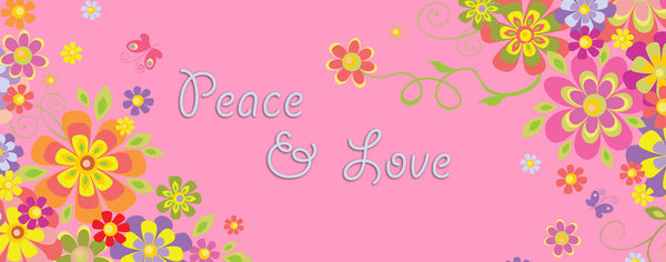 Pink Peace & Love