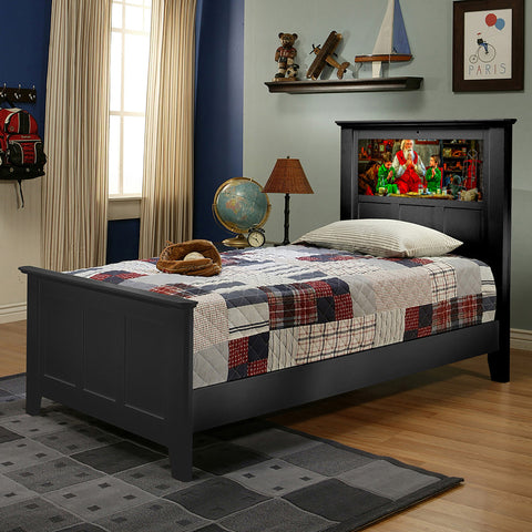 Shaker Twin Bed (multiple options)