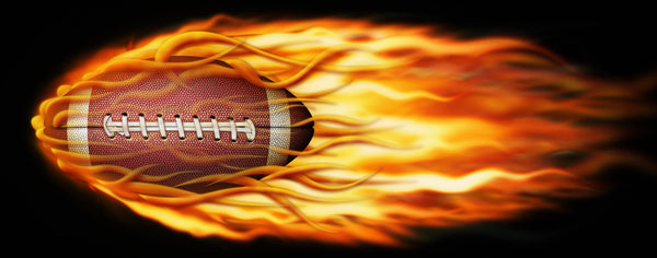 Football-Flaming Football