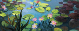 Water Lilies Oil Painting