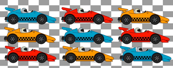 Cars-Indy Champion Pattern