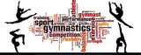 Gymnastics Word Art