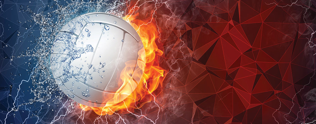 """Image result for Volleyball on fire"""""""