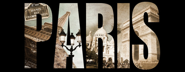 Paris Wordart