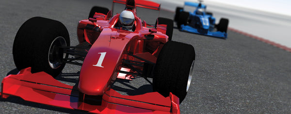 Cars-Red Number 1 Race Car