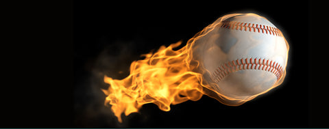 Baseball-Flaming Baseball