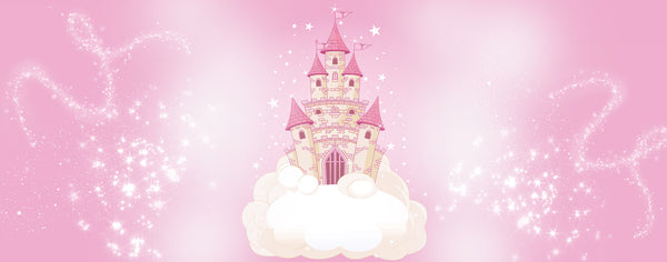 Pink Castle on a Cloud