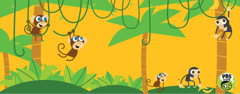 PBS KIDS-Jungle Monkeys