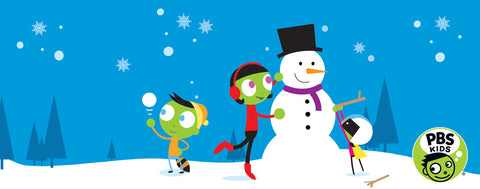 PBS KIDS-Building a Snowman
