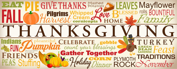 Thanksgiving WordArt