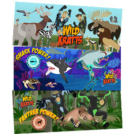 Wild Kratts 3 Piece Value Pack