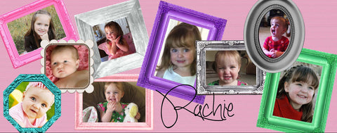 Pink Frame Collage