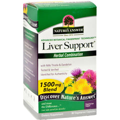 Nature's Answer Liver Support - 90 Vegetarian Capsules