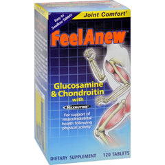 Natrol Feelanew Glucosamine And Chondroitin With Natural Cox-2 Inhibitor - 120 Tablets
